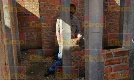 ¡Un hombre se suicidó ahorcándose en un lote baldío en Fresnillo!
