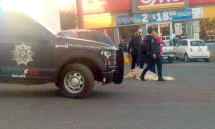 ¡Aspirante a policía estatal murió atropellado por un vehículo en Guadalupe, Zacatecas!