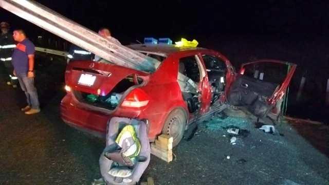 ¡Borracho provocó un accidente en Aguascalientes con saldo de 2 muertos y 4 lesionados!
