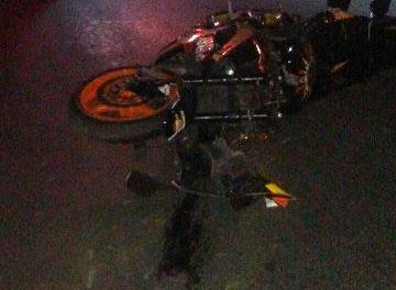 ¡Grave joven tras una caída de una motocicleta en Aguascalientes!