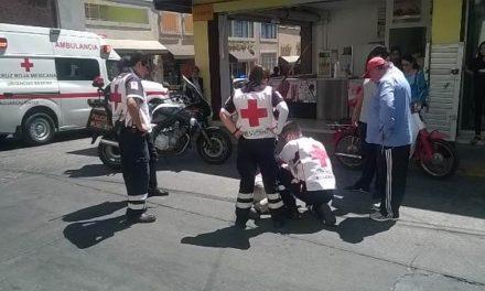 ¡Septuagenaria lesionada tras ser atropellada por una sexagenaria en Aguascalientes!