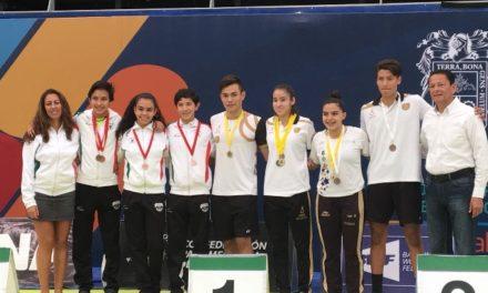¡Dobles varonil sub 19 logran tercer lugar en el Campeonato Nacional Selectivo de Bádminton!