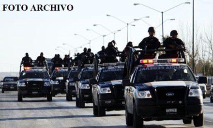 ¡Policías federales se enfrentaron a balazos con delincuentes en Encarnación de Díaz!