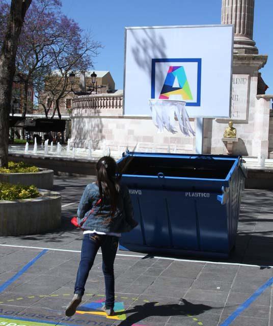 ¡Con idea creativa la Secretaría de Comunicación Social fomenta el hábito de la separación de basura!