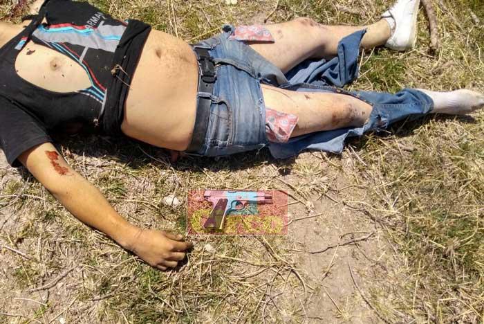 ¡2 delincuentes abatidos en La Chona al enfrentarse a elementos de la Fuerza Única de Jalisco!
