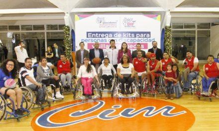 ¡Mi apoyo total a personas con discapacidades y adultos mayores: Tere Jiménez!