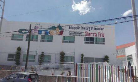 ¡Fuga de gas motivó inmediata evacuación de un Cendi en Aguascalientes!