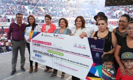 ¡Entregó Tere Jiménez 7500 becas en apoyo a la educación de niñas, niños y jóvenes de la capital!