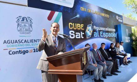 ¡Gobierno del Estado fomenta las vocaciones científicas y el acercamiento con el sector aeroespacial!