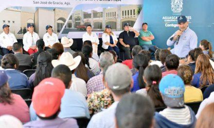 ¡Entrega MOS infraestructura carretera, turística, social y de salud por más de 46 MDP en San José de Gracia!