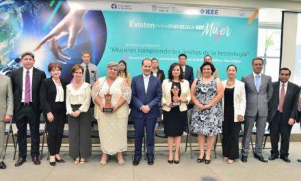 ¡Reconoce Gobierno del Estado aportaciones de mujeres en las áreas de ciencia y tecnología!