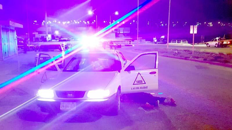 ¡Muere apuñalado un taxista al resistirse a ser asaltado en Aguascalientes, asesino fue capturado!