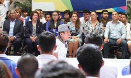¡Tere Jiménez reitera su compromiso de trabajar por los jóvenes de Aguascalientes!