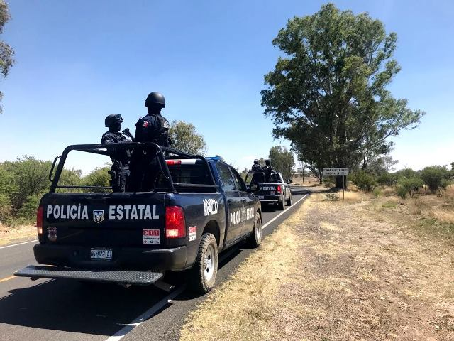 ¡Blindan Aguascalientes tras enfrentamiento armado en Encarnación de Díaz, Jalisco!