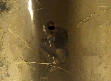 ¡Rescataron a un joven que cayó a una zanja en Aguascalientes!