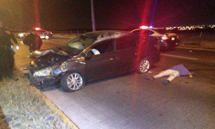 ¡Automovilista se mató tras impresionante accidente en Aguascalientes!