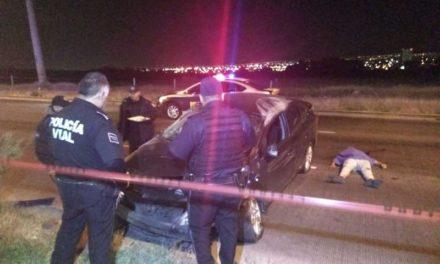 GALERIA/¡Automovilista se mató tras impresionante accidente en Aguascalientes!