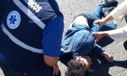 ¡Grave adolescente atropellado por un taxista en Aguascalientes!