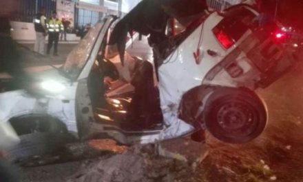 ¡Accidente automovilístico dejó 3 muertos y 2 lesionados en Guadalupe, Zacatecas!