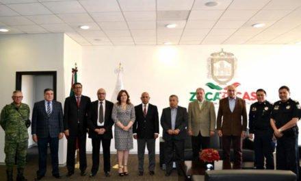 ¡Acuerdan Aguascalientes, Zacatecas y San Luis Potosí estrategia regional de seguridad pública!