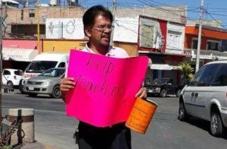 "¡Por falta de pago, ""teachers"" salen a las calles por la ""chuleta""!"