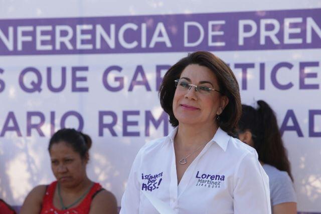 ¡Lorena Martínez va por Leyes que garanticen un salario remunerador!