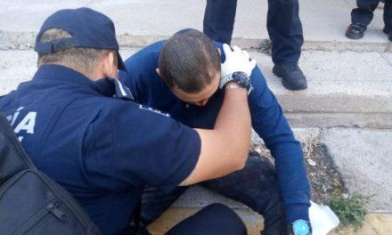 GALERIA/3 POLICÍAS MUNICIPALES CASI MUEREN EN EL CUMPLIMIENTO DE SU DEBER EN AGUASCALIENTES