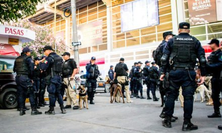 Listo operativo de seguridad de la SSPM para el partido Necaxa vs Tigres