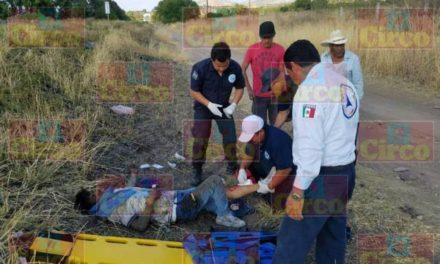 """¡Grave hombre atropellado por un auto """"fantasma"""" en Lagos de Moreno!"""