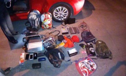 ¡Detuvieron a 2 sujetos que cometían robos tipo cristalazo en Aguascalientes!