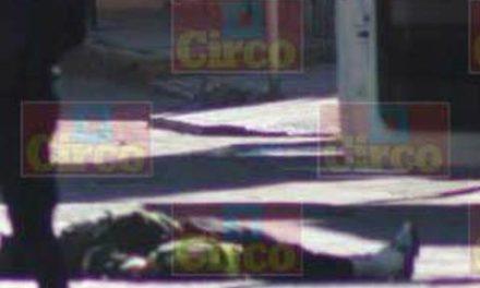 ¡Hombre fue ejecutado tras salir de un gimnasio en la Zona Centro de Fresnillo!