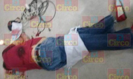¡Ejecutaron a un taquero en su negocio en Unión de San Antonio, Jalisco!