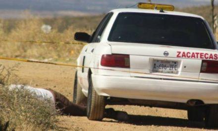 ¡Taxista fue ejecutado de un balazo en la cabeza en Vetagrande!