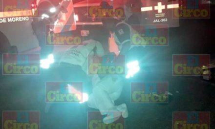 ¡Enfermera lesionada tras ser atropellada por un motociclista en Lagos de Moreno!