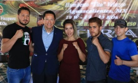 ¡Función de box internacional en la Feria Nacional de San Marcos 2018!