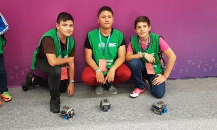 ¡Alumnos de Aguascalientes obtienen primeros lugares en concurso nacional de robótica y matemáticas!