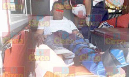 ¡Sujeto recibió una golpiza tras de que se metió a robar a una casa en Lagos de Moreno!