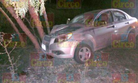 ¡Familia de Aguascalientes lesionada tras accidente en Lagos de Moreno!
