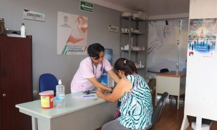 ¡ISSEA atiende con dos módulos médicos en las instalaciones de la FNSM 2018!