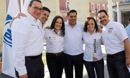 ¡Arranca campaña la Coalición Por México al Frente!