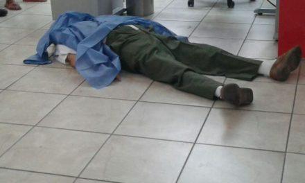 ¡Adulto mayor murió de un infarto dentro de un banco en Aguascalientes!