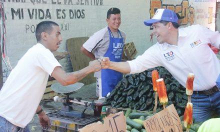 ¡El contacto con la ciudadanía me permitirá impulsar los temas que preocupan a la población: Leo Montañez!