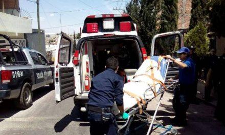 ¡Jovencita se dio un balazo en una pierna por jugar con un arma de fuego en Aguascalientes!