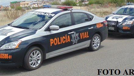 ¡Serias lesiones sufrió un motociclista tras chocar contra un auto en Aguascalientes!