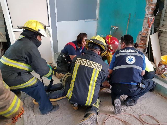 ¡Accidente en fábrica de templado de vidrio en Aguascalientes dejó 5 lesionados!
