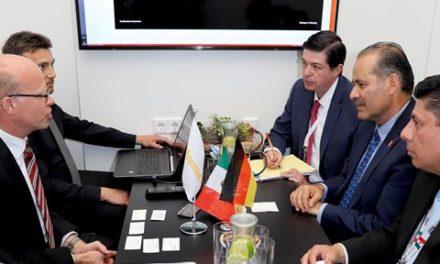 ¡Empresa alemana confirma al gobernador interés por invertir en el estado!