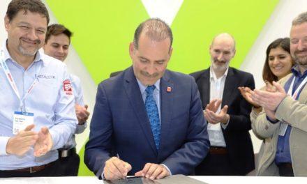 ¡MOS firma como testigo acuerdo de colaboración empresarial entre Europa y Aguascalientes!