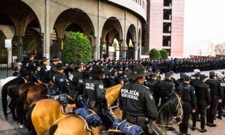 ¡Listo, Operativo de Seguridad Pública Municipal para la Feria Nacional de San Marcos!