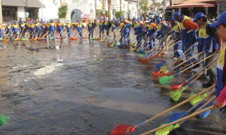 ¡Listo operativo de limpieza para la Feria Nacional de San Marcos 2018!