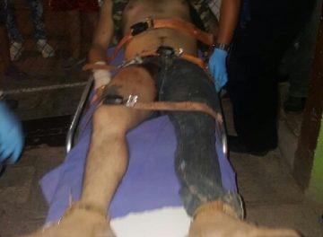 """¡Lesionaron de un balazo a un """"paracaidista"""" en Aguascalientes!"""